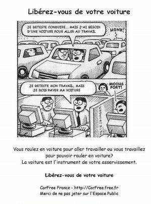 liberer voiture
